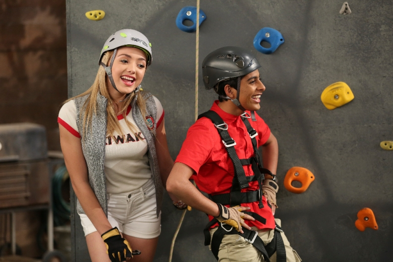 "Peyton List and Karan Brar on ""Bunk'd"""