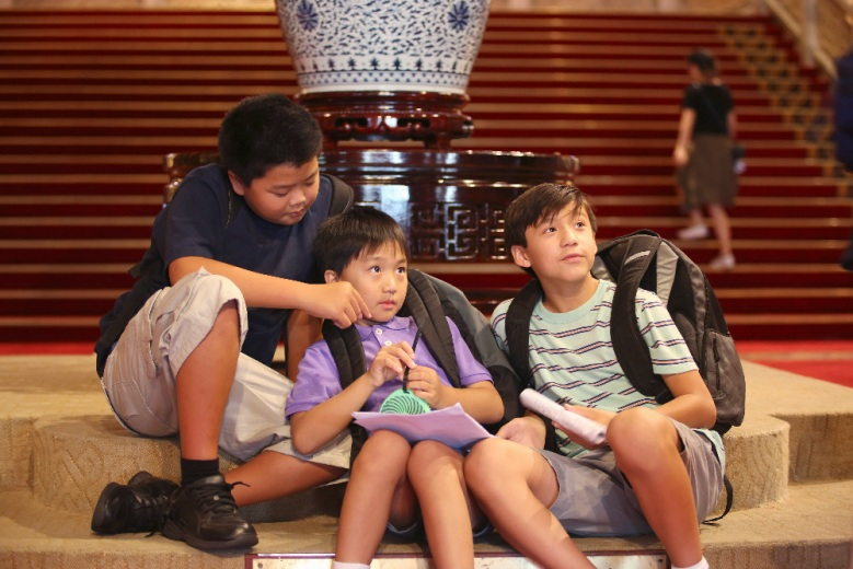 "Hudson Yang, Ian Chen and Forrest Wheeler on ""Fresh Off the Boat"""