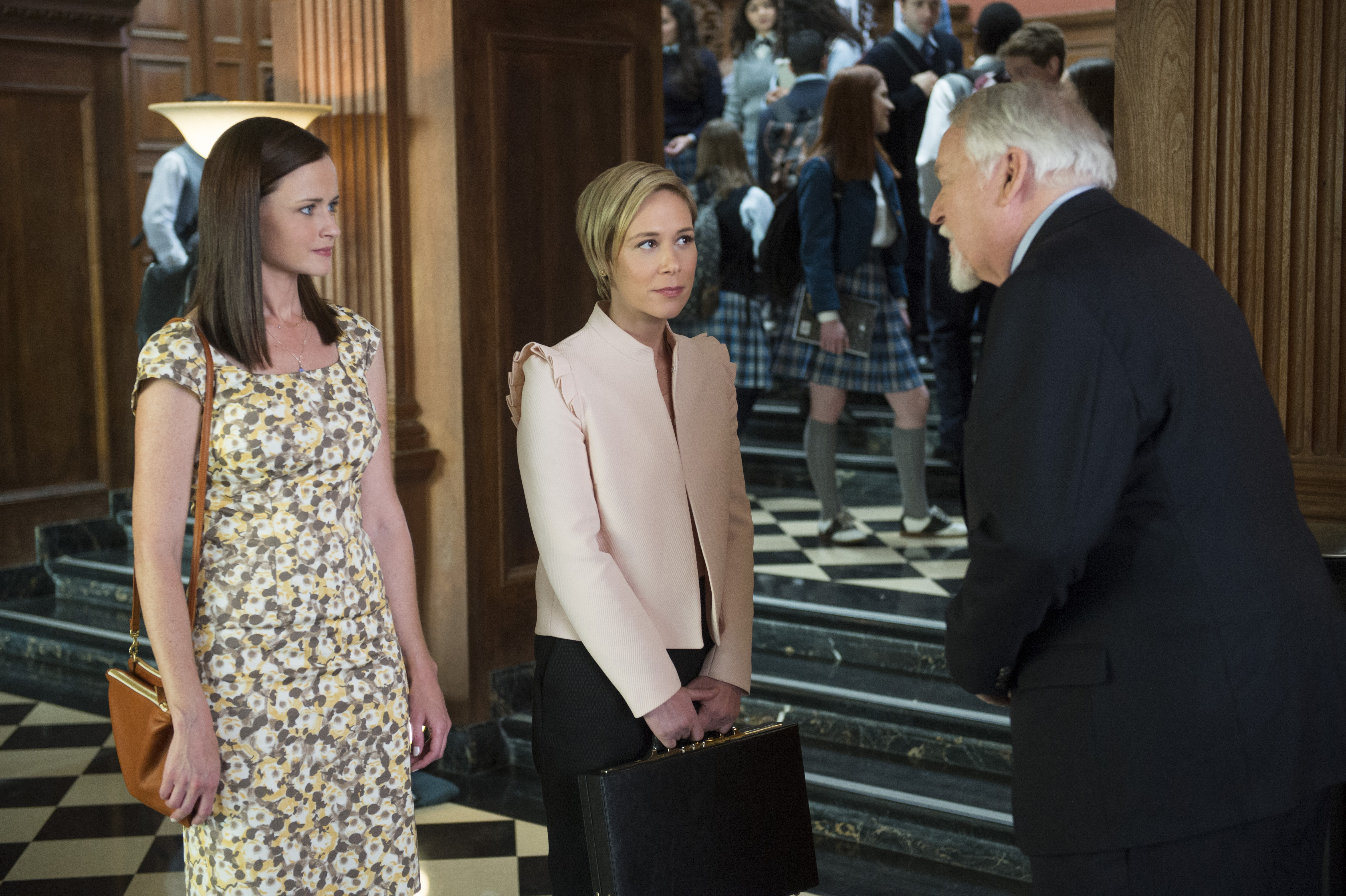 "Alexis Bledel, Liza Weil and Darkin Matthews, ""Gilmore Girls: A Year in the Life"""