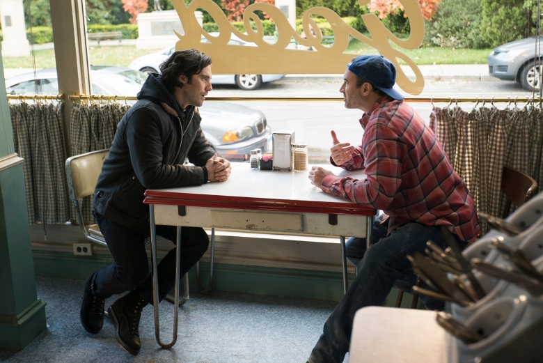Gilmore Girls: A Year in the Life Photos Milo Ventimiglia as Jess Mariano and Scott Patterson as Luke.