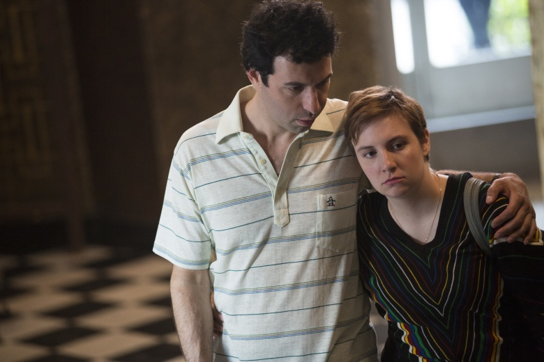 "Alex Karpovsky and Lena Dunham in ""Girls."""