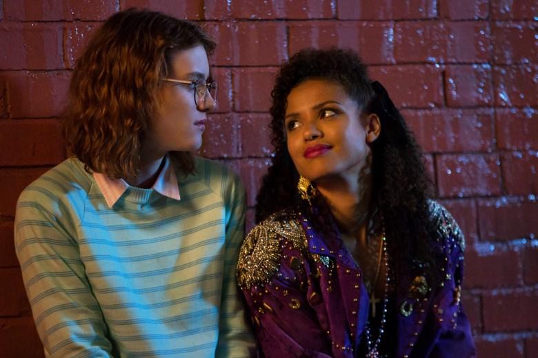 """Mackenzie Davis and Gugu Mbatha-Raw in """"Black Mirror."""""""