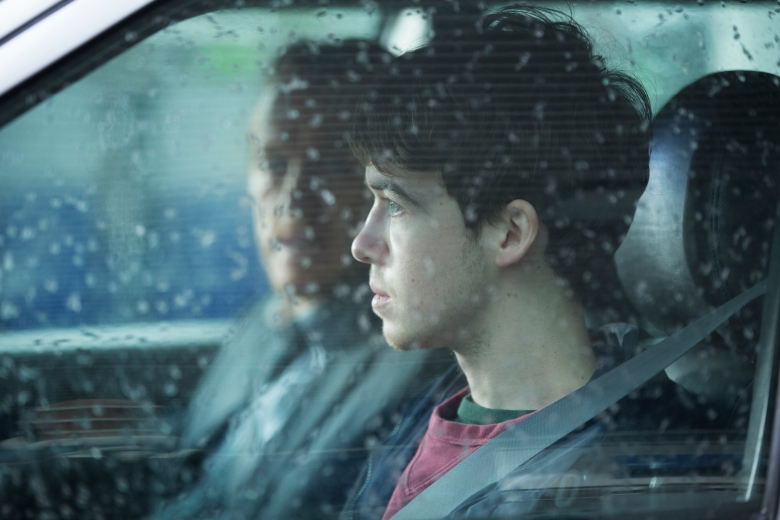 "Jerome Flynn and Alex Lawther in ""Black Mirror."""