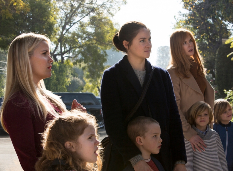 Reese Witherspoon, Shailene Woodley, Nicole Kidman, Cameron Crovetti, Nicholas Crovetti, Iain Armitage, Darby Camp Big Little Lies HBO Limited Series