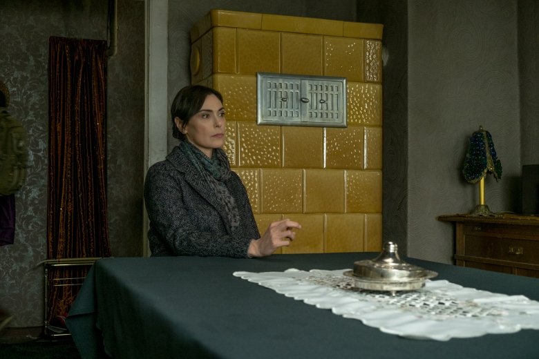 "Michelle Forbes in ""Berlin Station"""