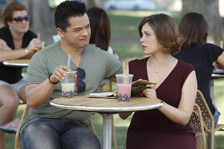 """Vincent Rodriguez III and Rachel Bloom, """"Crazy Ex-Girlfriend"""""""
