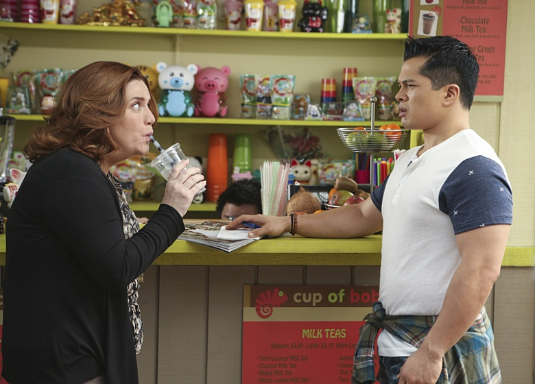 "Donna Lynne Champlin and Vincent Rodriguez III, ""Crazy Ex-Girlfriend"""