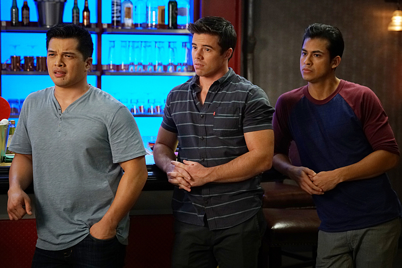 Crazy Ex-Girlfriend Season 2 Vincent Rodriguez III, David Hull, Erick Lopez