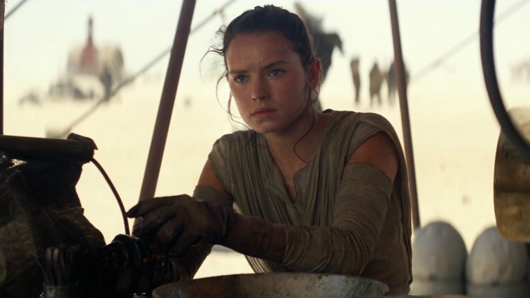 Image result for rey force awakens