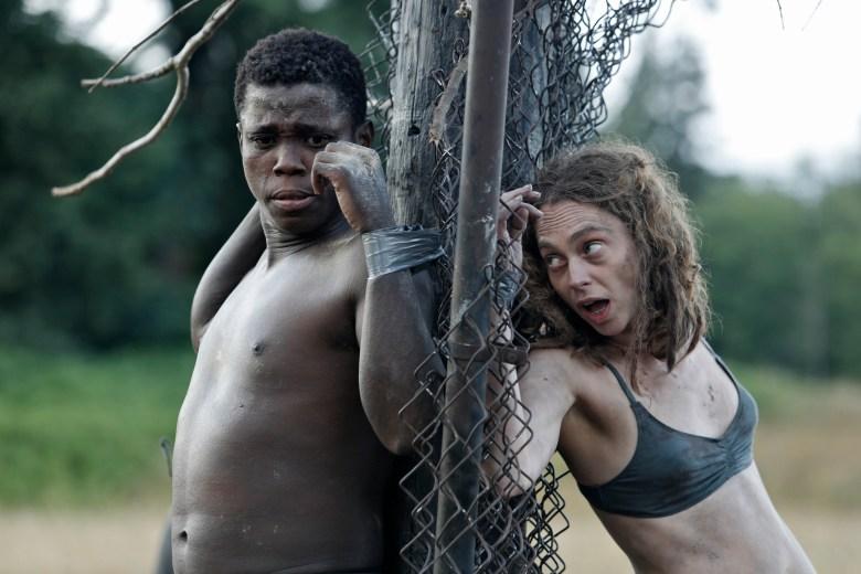 """Mpho Koaho and Fiona Dourif, """"Dirk Gently"""""""