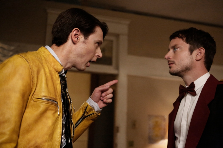 "Samuel Barnett and Elijah Wood, ""Dirk Gently"""