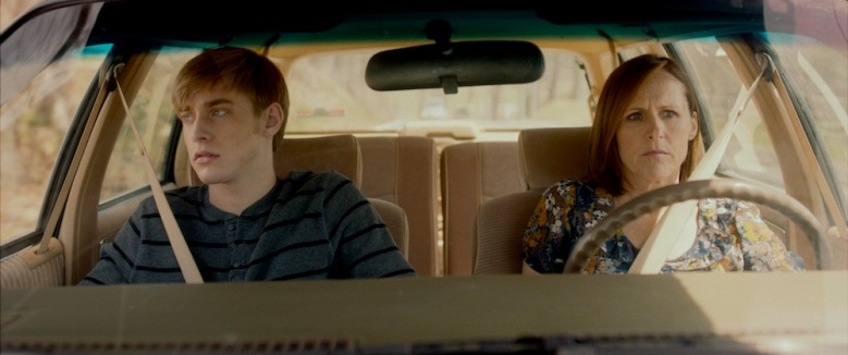 "Tim Boardman and Molly Shannon in ""Miles,"" a film by Nathan Adloff."