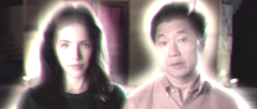 "Wei Ning ""Ann"" Hsu and Ken Jeong on ""Fresh Off the Boat"""