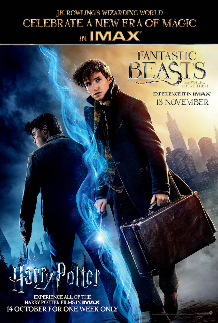 Harry Potter Fantastic Beasts IMAX Poster