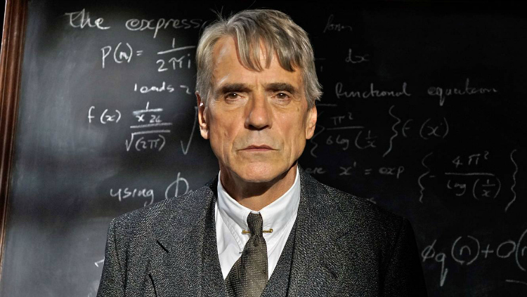 "Jeremy Irons, ""The Man Who Knew Infinity"""