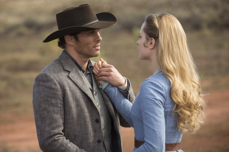 Westworld 103 James Marsden Evan Rachel Wood