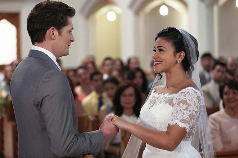 "Brett Dier and Gina Rodriguez, ""Jane the Virgin"""