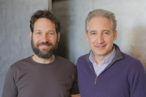 Paul Rudd and Brian Greene