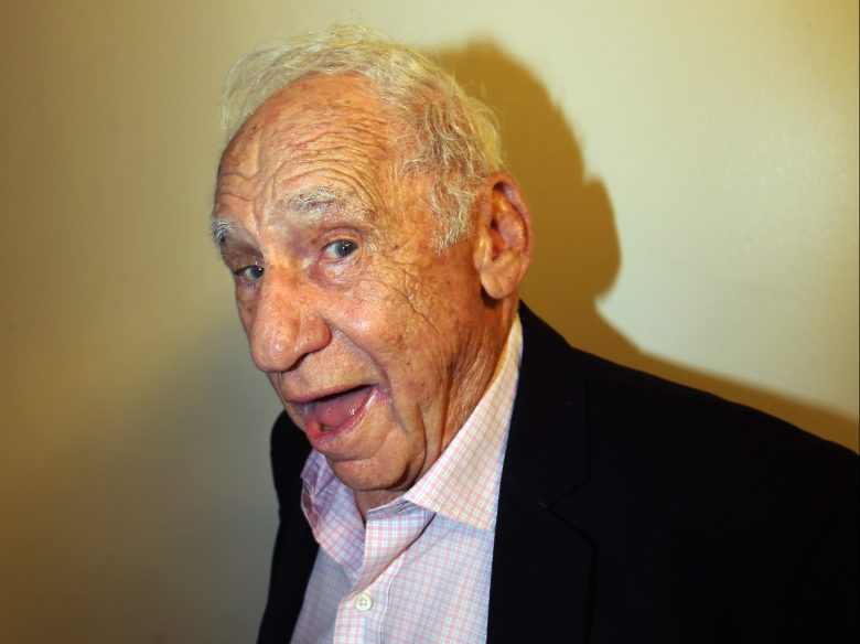 Mel Brooks at the Festival of Disruption.