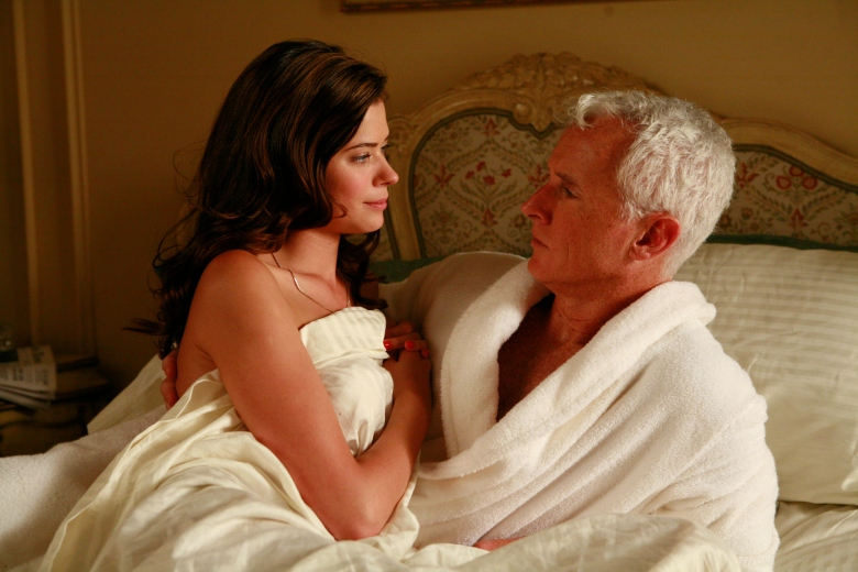 "Peyton List and John Slattery, ""Mad Men"""