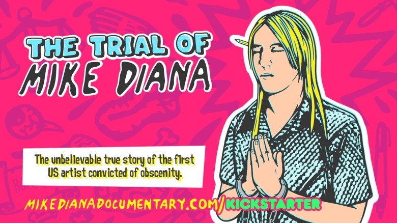 Project of the Day - The Trial of Mike Diana