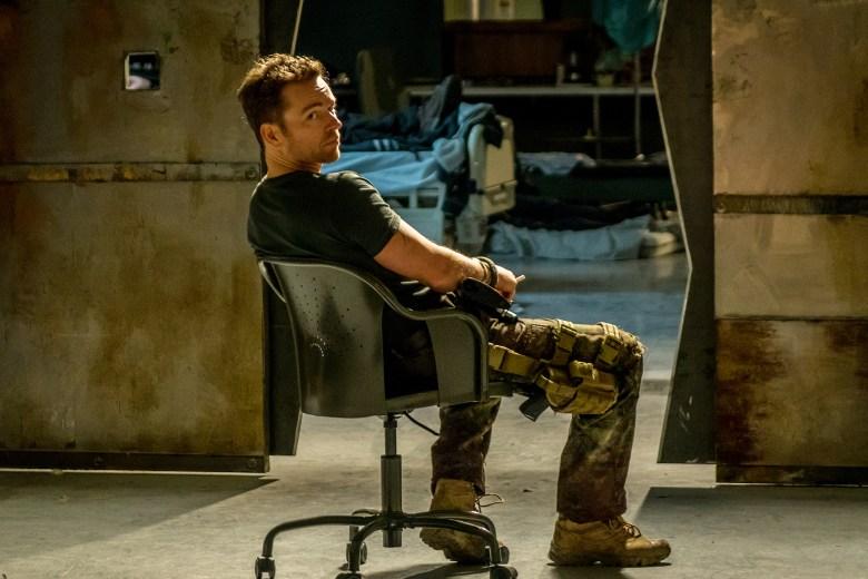 "VAN HELSING -- ""Help Me"" Episode 101 -- Pictured: Jonathan Scarfe as Axel Miller -- (Photo by: Dan Power/Helsing S1 Productions/Syfy)"