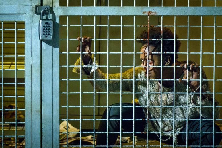 """VAN HELSING -- """"Help Me"""" Episode 101 -- Pictured: Rukiya Bernard as Doc -- (Photo by: Dan Power/Helsing S1 Productions/Syfy)"""