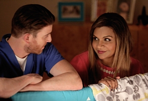 "Bryan Greenberg and Mindy Kaling on ""The Mindy Project"""