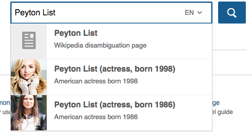 The Two Peyton Lists