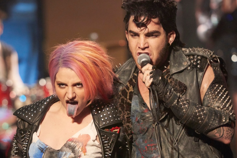 THE ROCKY HORROR PICTURE SHOW: Let's Do The Time Warp Again: L-R: Annaleigh Ashford and Adam Lambert in THE ROCKY HORROR PICTURE SHOW: Let's Do The Time Warp Again, premiering Thursday, Oct. 20 (8:00-10:00 PM ET/PT) on FOX. ©2016 Fox Broadcasting Co. Cr: Steve Wilkie/FOX