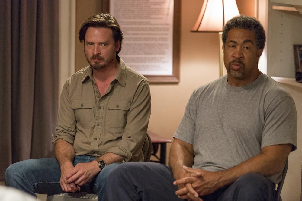 Aden Young as Daniel, John Marshall Jones as Pickle- Rectify Season 4, Episode 1