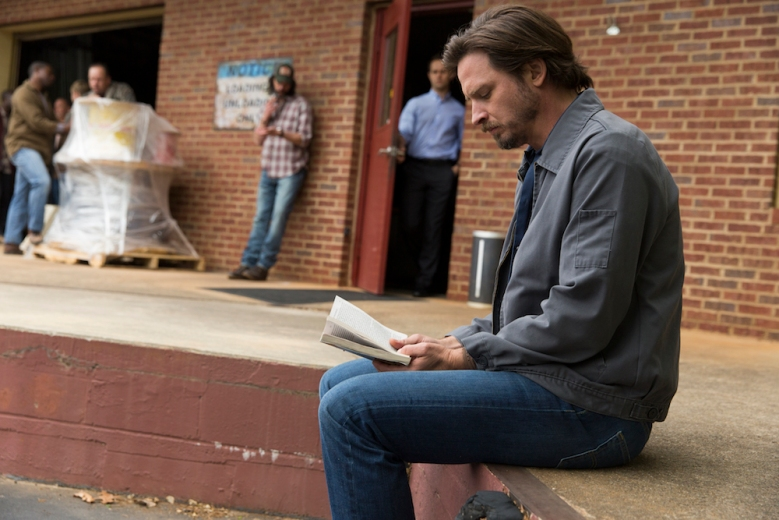 Aden Young as Daniel, Marcus Hester as Earl, Hunter Burke as Julian - Rectify _ Season 4, Episode 1