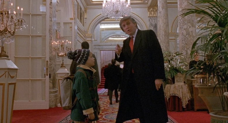 donald trump films and tv show cameos made him a pop