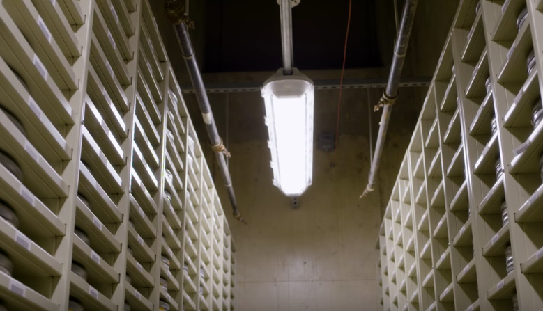 The Nuclear Bunker Preserving Movie History