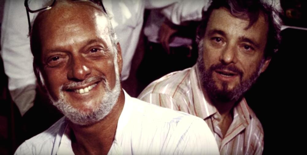 Hal Prince and Stephen Sondheim