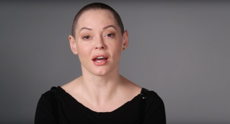 "Rose McGowan in ""It's Not Okay"""