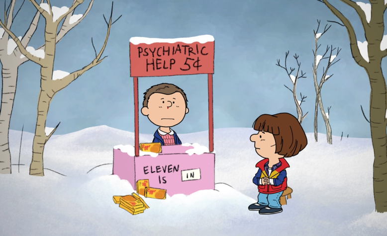 Stranger Things Peanuts
