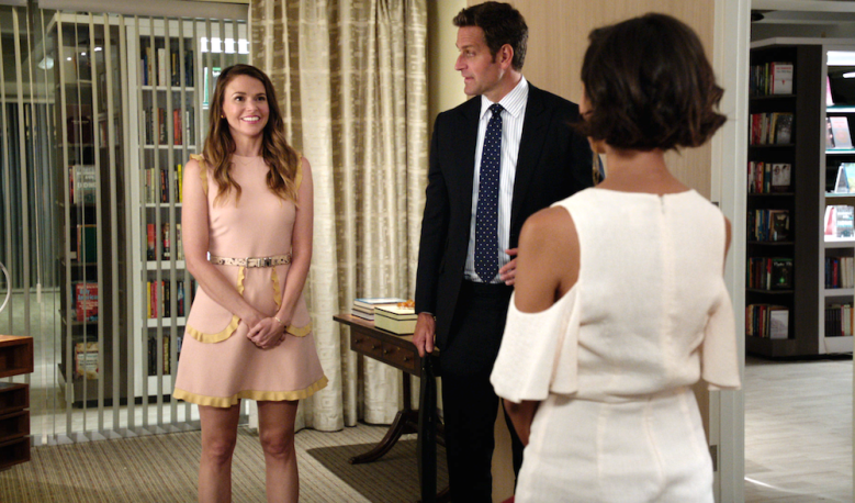 "Sutton Foster and Peter Hermann, ""Younger"""