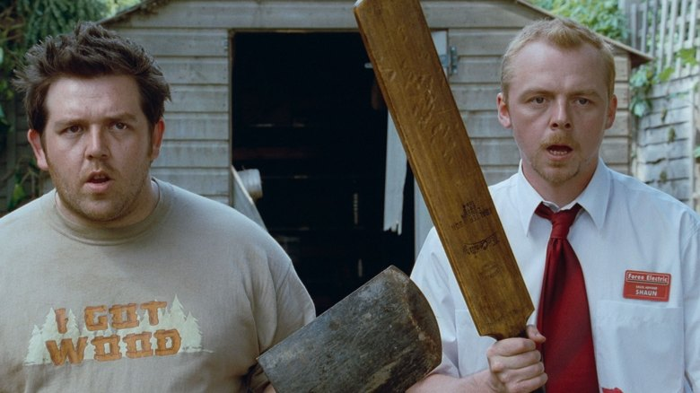 Edgar Wright Simon Pegg Nick Frost Shaun of the Dead