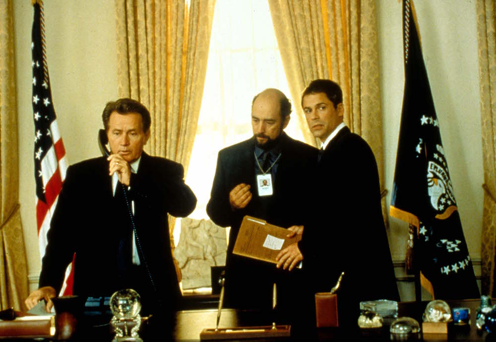 The West Wing , Martin Sheen, Richard Schiff, Rob Lowe Film and Television