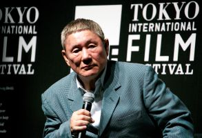 Takeshi Kitano at the 2014 Samurai Awards
