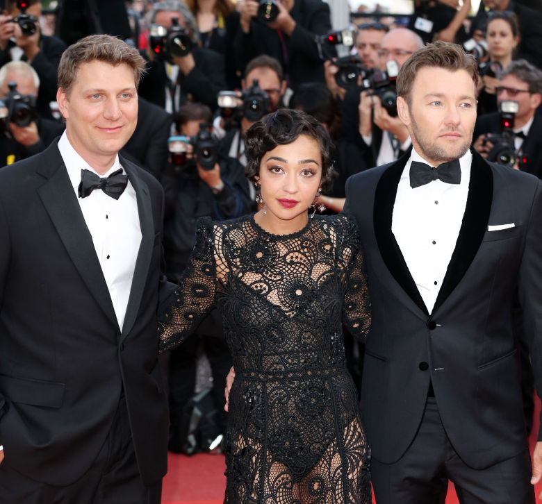 Jeff Nichols, Ruth Negga and Joel Edgerton at 'Loving' premiere.