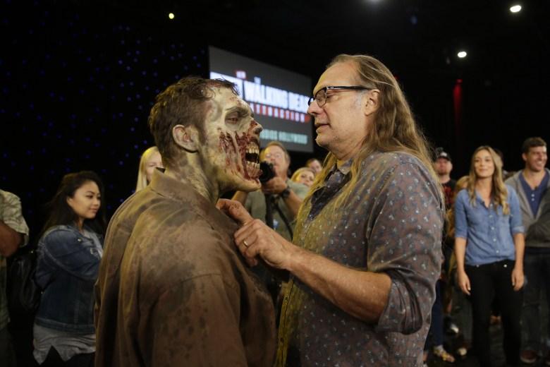 "Greg Nicotero, ""The Walking Dead"""