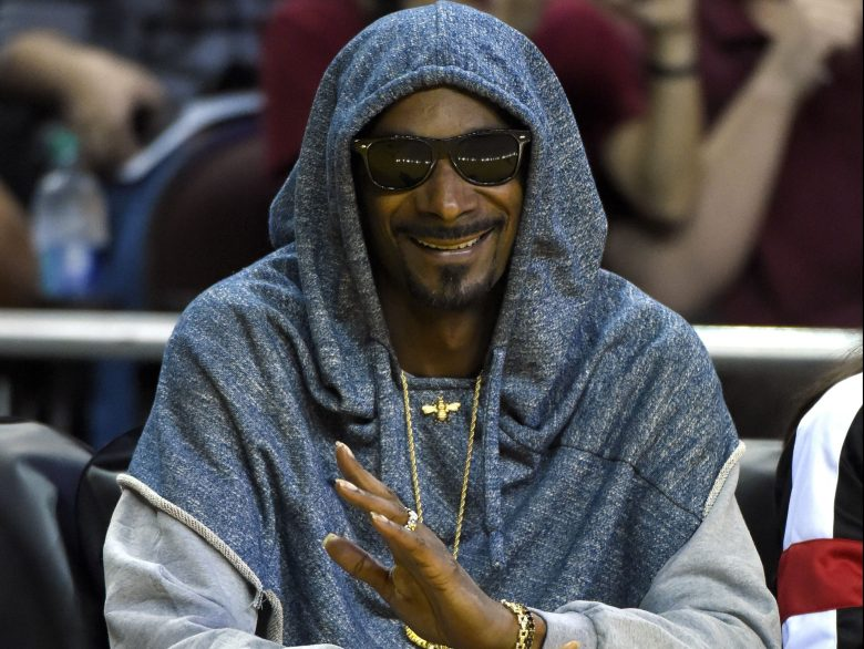 Copyright 2016 The Associated Press. All rights reserved. This material may not be published, broadcast, rewritten or redistributed without permission. Mandatory Credit: Photo by Mark J. Terrill/AP/REX/Shutterstock (6323361p) Snoop Dogg Rapper Snoop Dogg watches during the first half in Game 3 of the WNBA Finals between the Los Angeles Sparks and the Minnesota Lynx, in Los Angeles WNBA Finals Sparks Lynx Basketball, Los Angeles, USA - 14 Oct 2016
