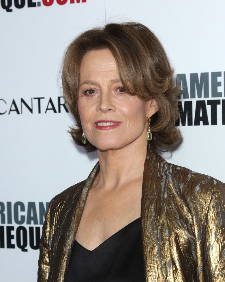 Sigourney Weaver at the American Cinematheque Awards.