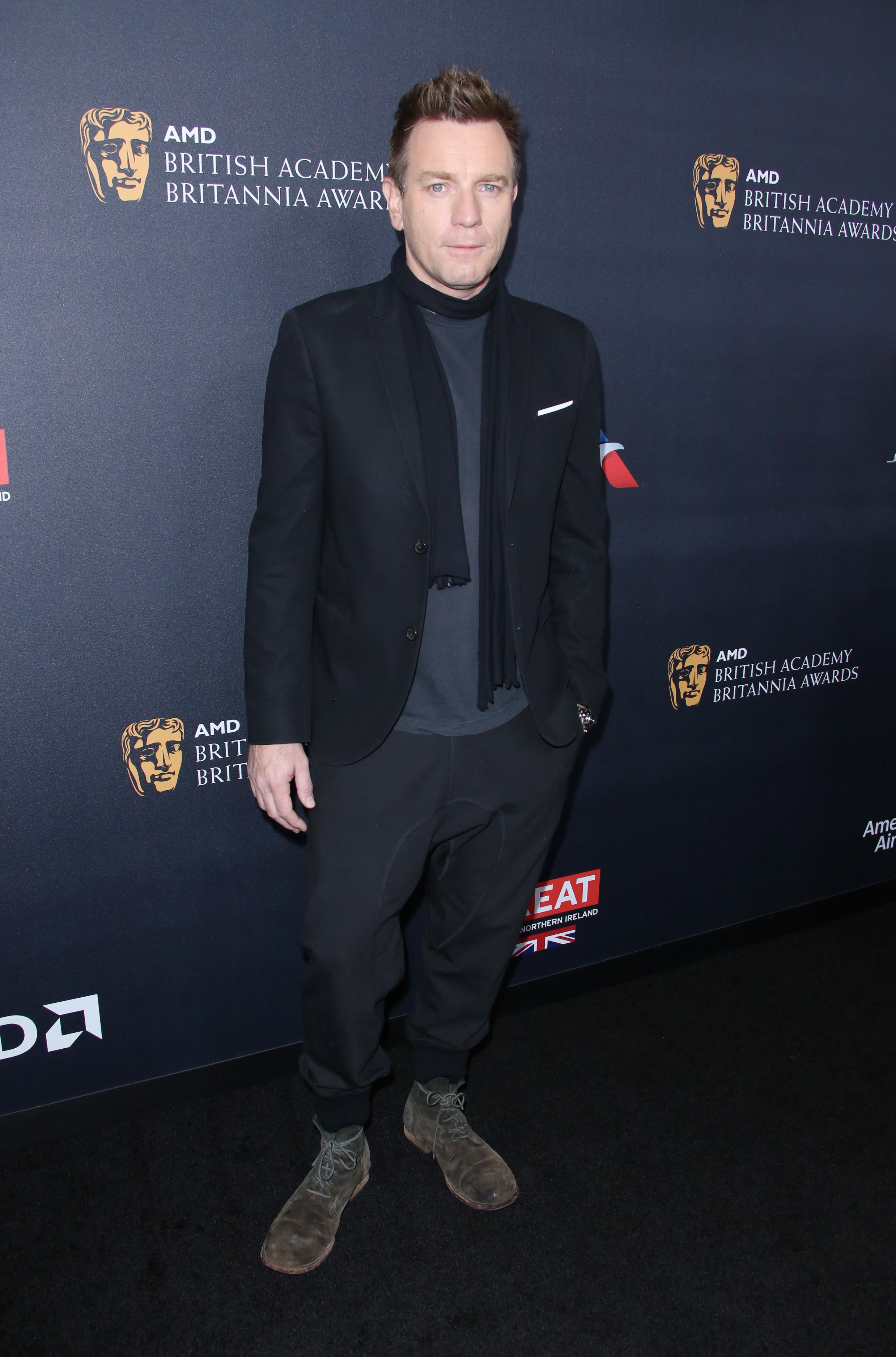Ewan McGregor BAFTA Britannia Awards, 6