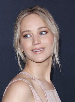 Jennifer Lawrence at BAFTA Britannia Awards.