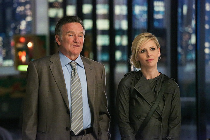 "Robin Williams and Sarah Michelle Gellar, ""The Crazy Ones"""