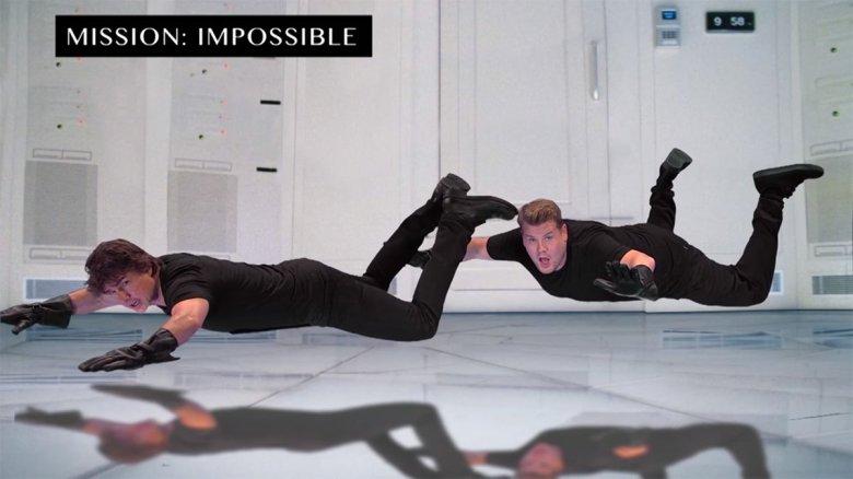 Tom Cruise James Corden