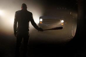 """Jeffrey Dean Morgan as Neganin season seven of """"The Walking Dead"""""""